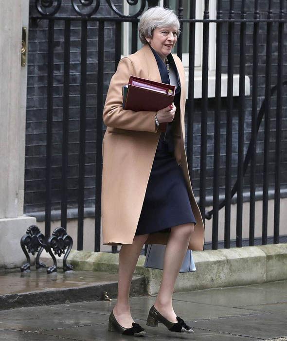 Theresa May Coat