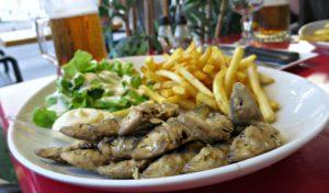 Sardine menu