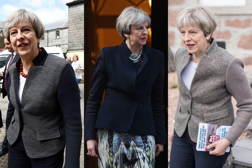 Theresa May jackets