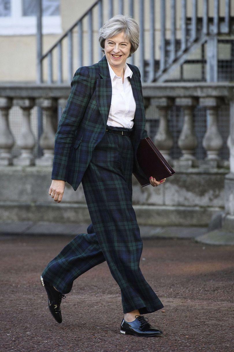 Theresa May Vivienne Westwood Suit