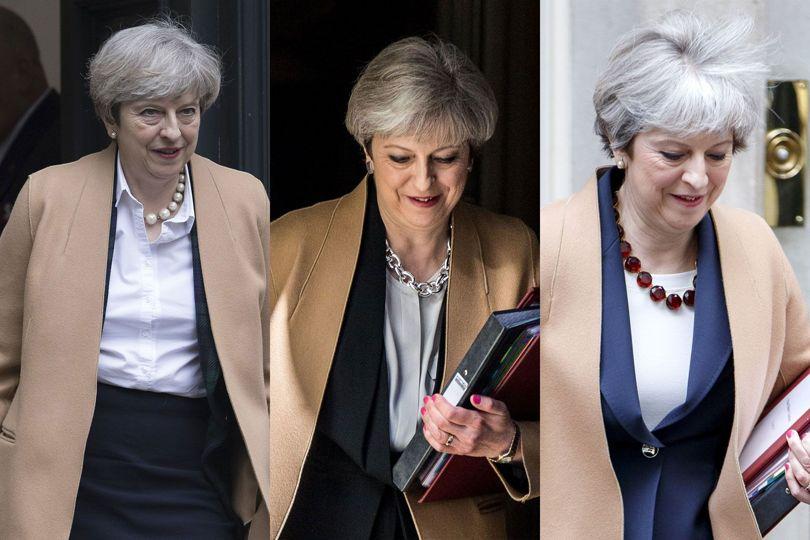 Theresa May necklace