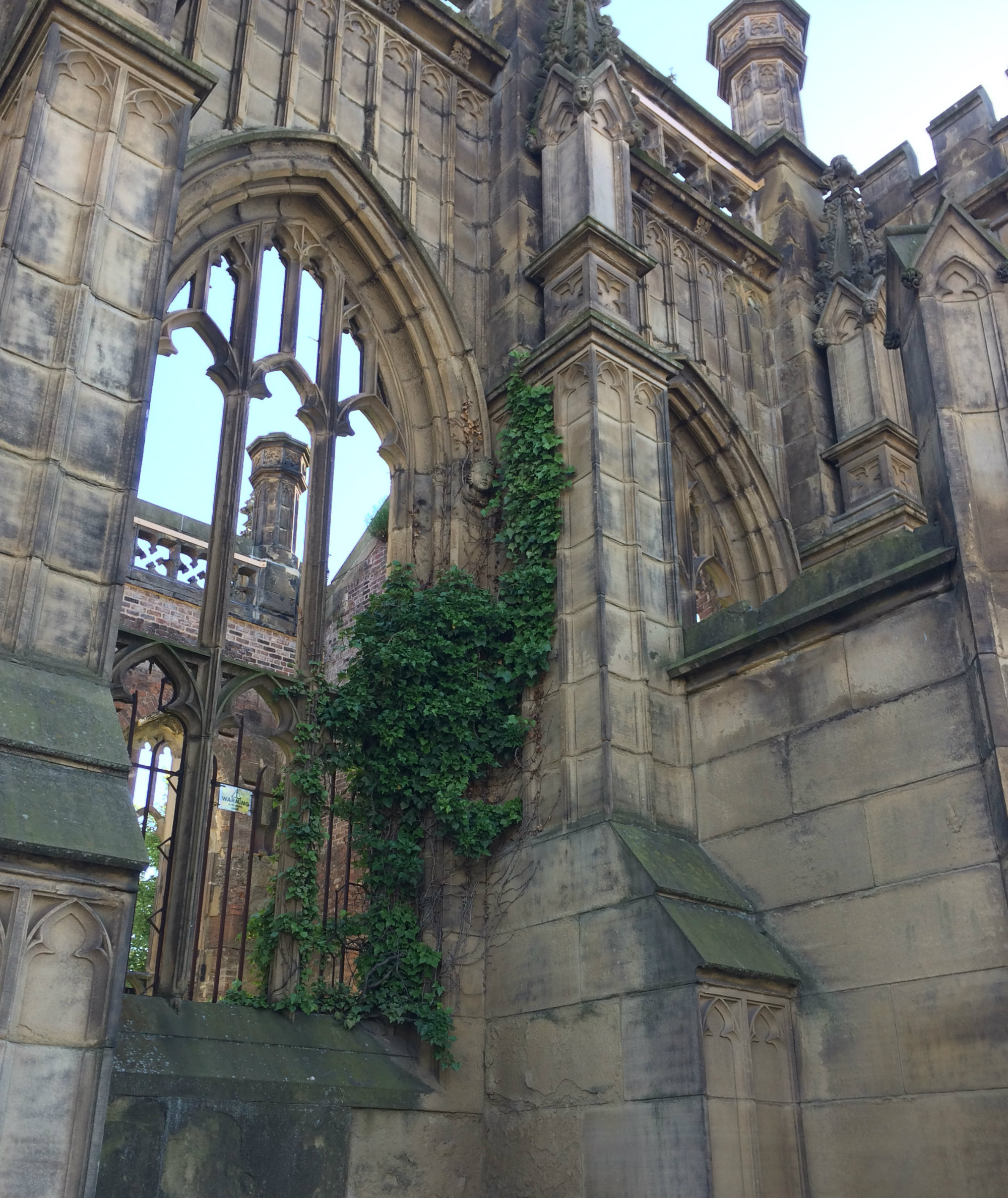 Bombed out Church