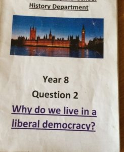 Why do we live in a liberal democracy?