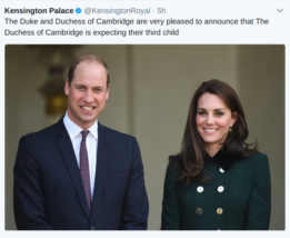 Kate and William announcement