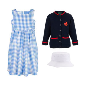 Thomas's Battersea summer uniform for girls