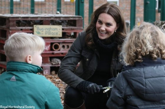 Kate at Robin Hood School