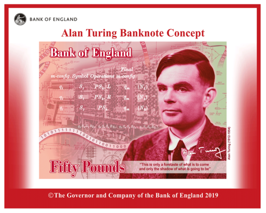 New 50 pound note