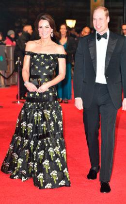 BAFTA 2017 (Source: Hello)