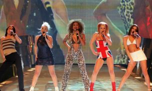 Spice Girls 1997 (Source: Fiona Hanson PA)