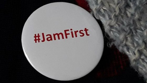 Jam First badge