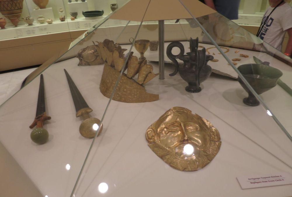 ミケーネ遺跡 考古学博物館
