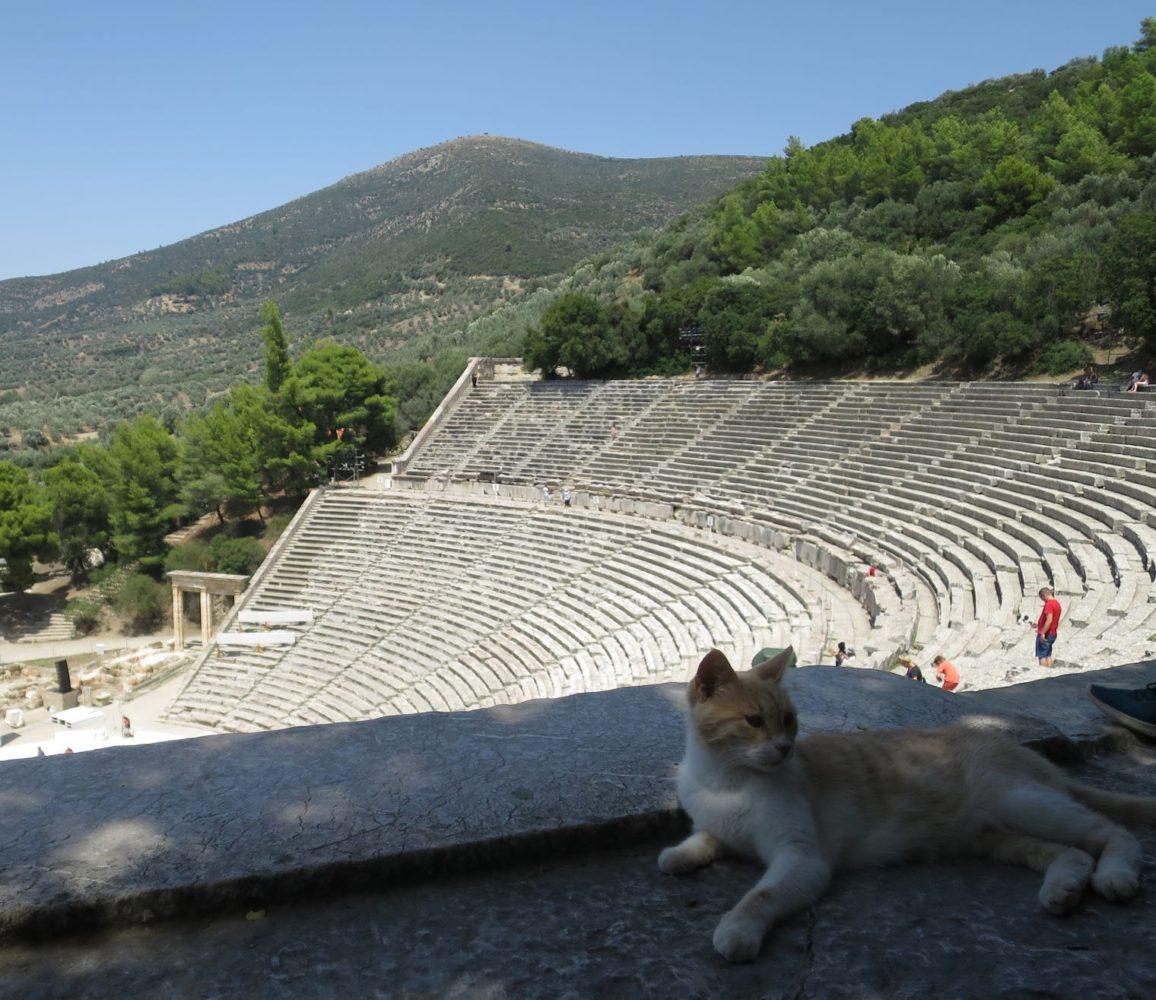 エピダウロス古代劇場