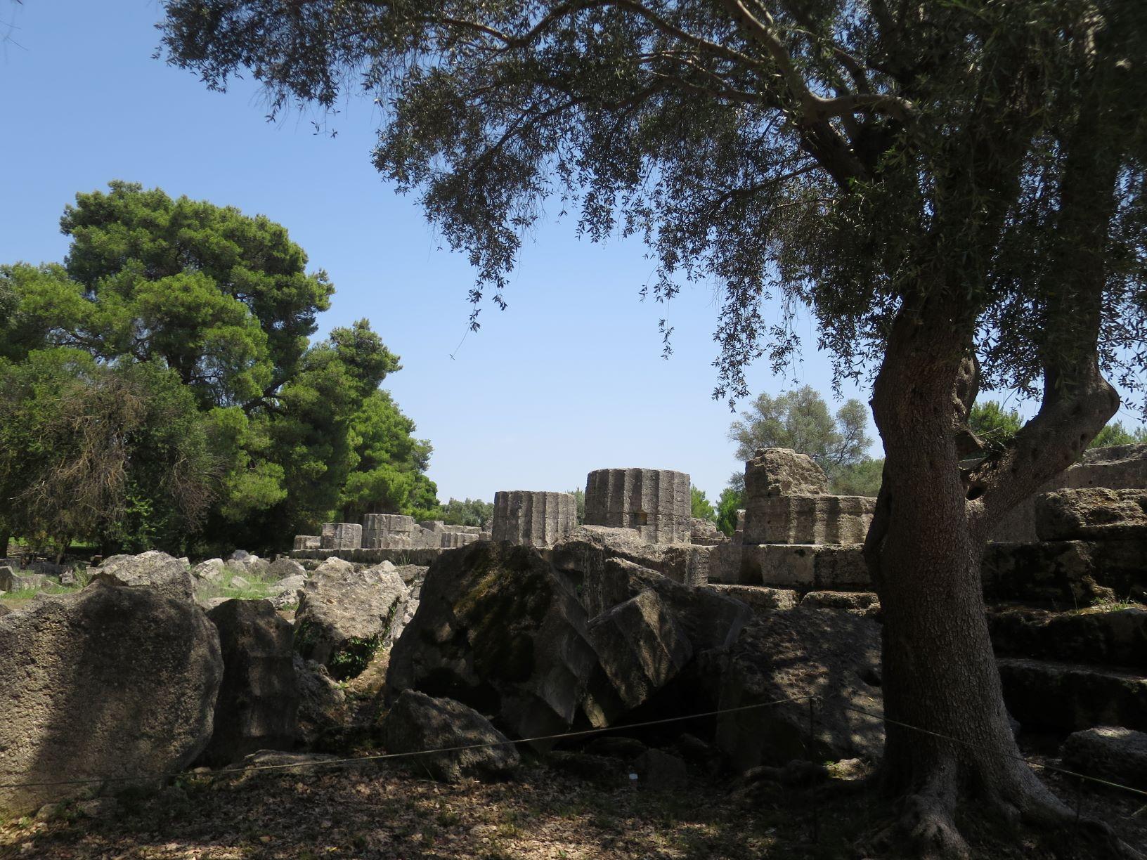 オリンピア遺跡 ゼウスの神殿